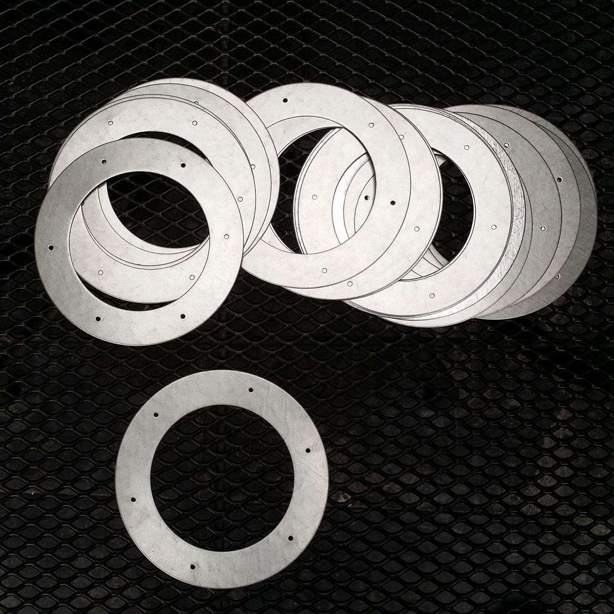 stalen ring 90 mm