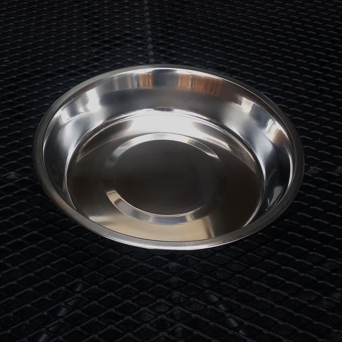 Badschaal rvs 200 mm