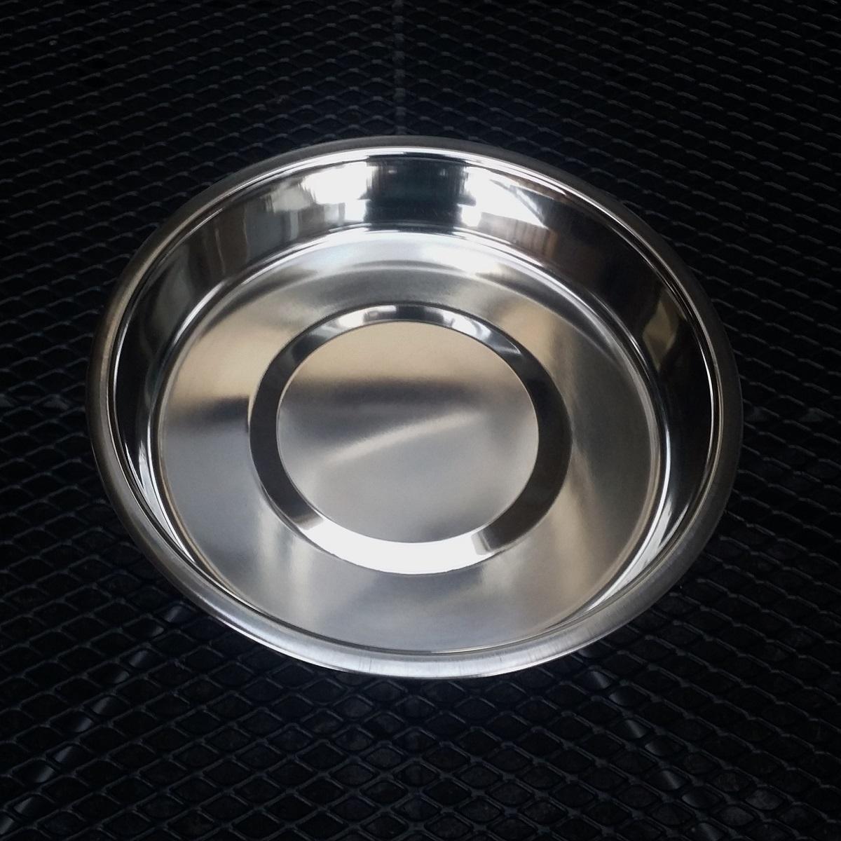 Badschaal rvs 250 mm