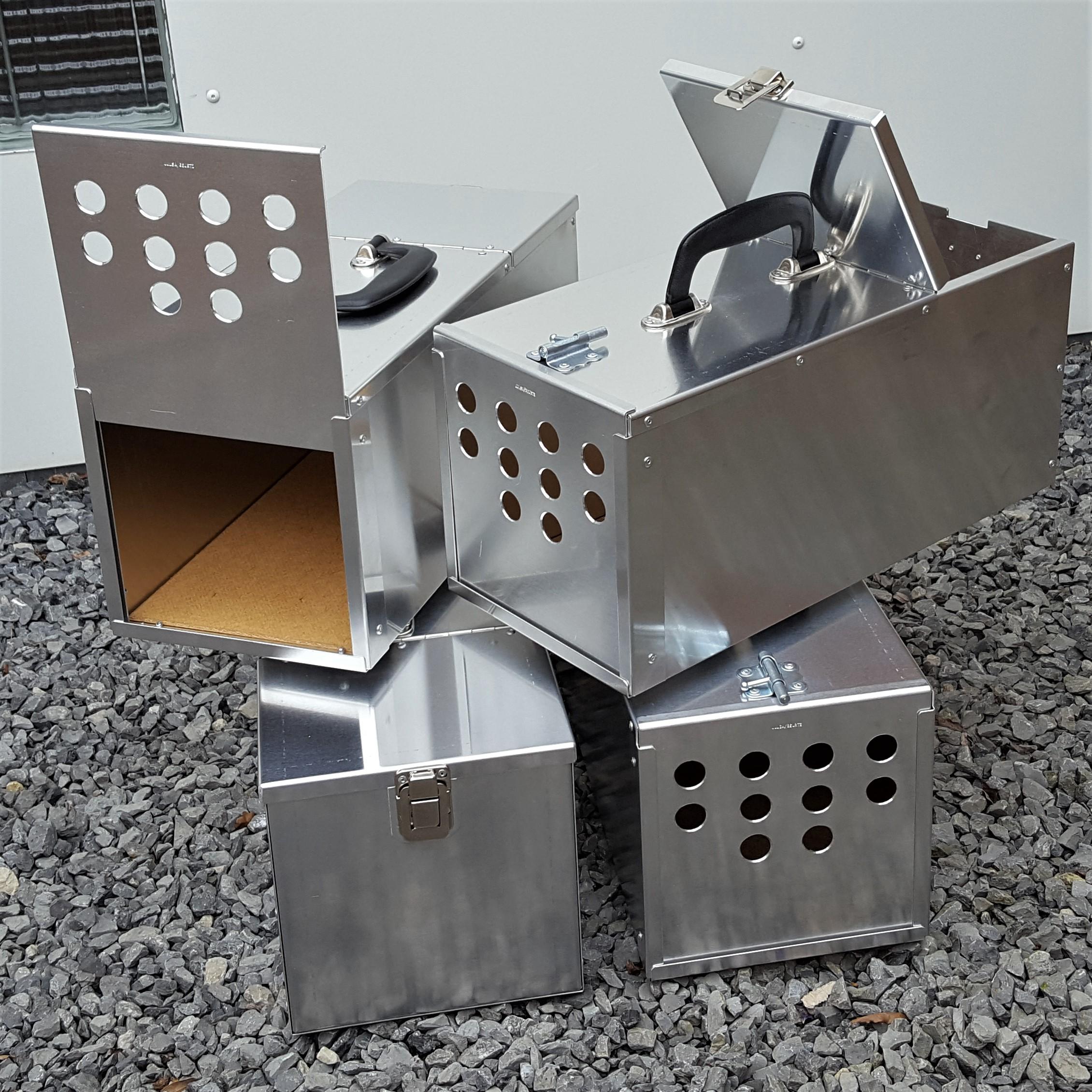 Transportbox 1) 400 x 180 x 180 mm